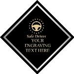 Safe Driving Award Plaque, Black Diamond