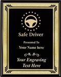 Safe Driving Award Plaque, Corporate Heritage