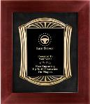 Safe Driving Award Plaque, Roman Framed
