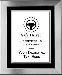 Safe Driving Award Plaque, Platinum