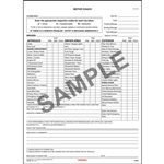 New York Motor Coach Drivers Vehicle Inspection Report, Large Book Format, Personalized