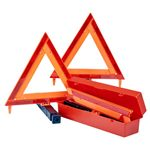 Fluorescent Emergency Warning Triangles