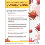 Protecting Yourself During Coronavirus COVID-19 OSHA Safety Poster