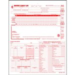 5 in 1 Drivers Daily LogBook, 2 Ply Carbonless Looseleaf