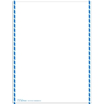 IMO Dangerous Goods Declaration Laser Blank Form