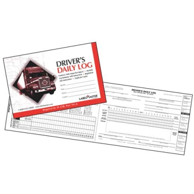 Drivers 2 Sided Daily Log Book