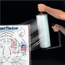 "12"" x 90 Gauge x 1500' Blown Hand Stretch Film"