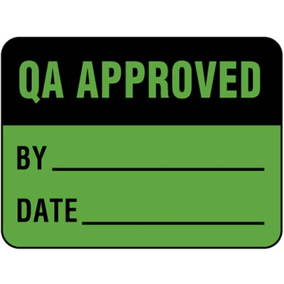 QA Approved - Label