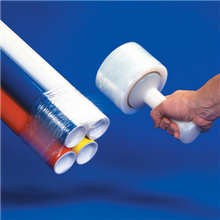 "5"" x 80 Gauge x 1000' Bundling Stretch Film"