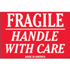 "2"" x 3"" - Fragile - Handle With Care Labels"
