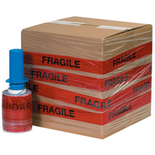 "5"" x 80 Gauge x 500' FRAGILE Goodwrappers Identi-Wrap"