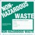 Non Hazardous Waste Label with Generator Info - Paper