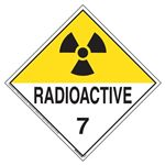 International Radioactive Wordless Placard
