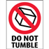 "3"" x 4"" Do Not Tumble Labels"