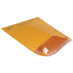 "5"" x 10"" Kraft Self Seal Bubble Mailers"