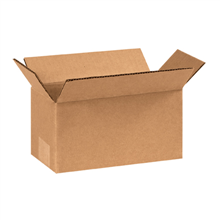 "8"" x 6"" x 3"" Flat Corrugated Boxes, 25ct"