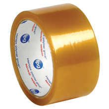 "2"" x 110 yds. Clear 2.9 Mil Natural Rubber Tape"