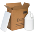 "1 - 1 Gallon Plastic Jug Shipper Kit, 6"" x 6"" x 12 3/4"""