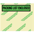 "4 1/2"" x 5 1/2"" Environmental Packing List Enclosed Envelopes"