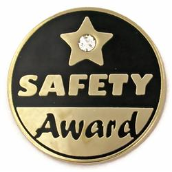 safety award pin safe driving awards s878