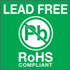 "2"" x 2"" - Lead Free RoHs Compliant Labels"