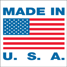 "2"" x 3"" Made in USA Labels"
