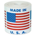 "2"" x 2"" Made in U.S.A. Labels"