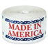 "3"" x 5"" Made in America Labels"