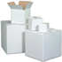 "10"" x 8"" x 6"" White Corrugated Boxes"