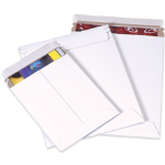 "7"" x 9"" White Self Seal StayFlat Plus Mailers"