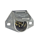 Pollak 7 Pole Pin-Type Zinc Connector Vehicle End