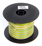 16ga Yellow, Brown, Green, White Bonded Wire