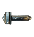 "8"" Zinc Strap Hinge 180° with 3-hole Bracket"