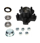 "Dexter 5 on 4.5"" Standard Hub Kit, 1"" Spindle for 2K Axles"