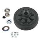 "Dexter 8 on 6.5"" EZ-Lube Hub & Drum Kit For 6K, 7K Axles"
