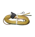 Optronics 30FT 18GA 4 Bonded Wire with 4-Way Plug Trailer End