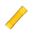 10-12 Gauge Butt Connector Yellow