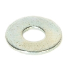 "7/16"" Zinc Plated Flat Washer, 10Pk"