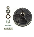 "Dexter 5-Spoke UTG 12"" EZ-Lube Hub, Drum Kit for 6-7K Axles"