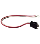 Optronics 3 Wire Straight Pigtail for Tail Lights