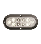 "Optronics 6"" Oval LED Surface Mount Utility Light"