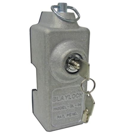 Blaylock DL-80 Cargo Trailer Door Lock 3 Pack of Keyed-Alike Locks