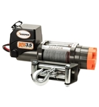 Keeper 3.5K Electric Medium-Duty Winch & 60' Cable