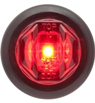 Redline Red 3/4in Round LED Clearance, Marker Light & Grommet