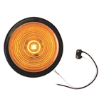 "Redline 2"" Amber LED Clearance, Marker Light w Grommet, Pigtail"