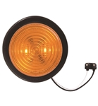 "Redline 2-1/2"" Amber LED Clearance, Marker Light, Grommet & Pigtail"