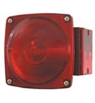 Redline RH Stop, Turn, Tail Light for Under 80 inches