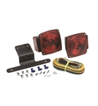"Redline Incandescent Trailer Light Kit Under 80"" Wide"