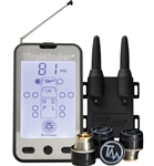 Tire Pressure Monitoring System & Monitor with 4 Transmitters