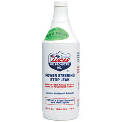 Lucas Oil 32oz Power Steering Stop Leak - 12 Pack